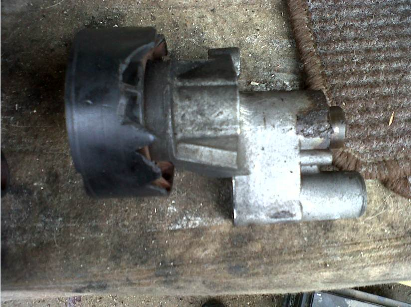 406 1 9 td de 1998  92 cv  remplacement galet tendeur