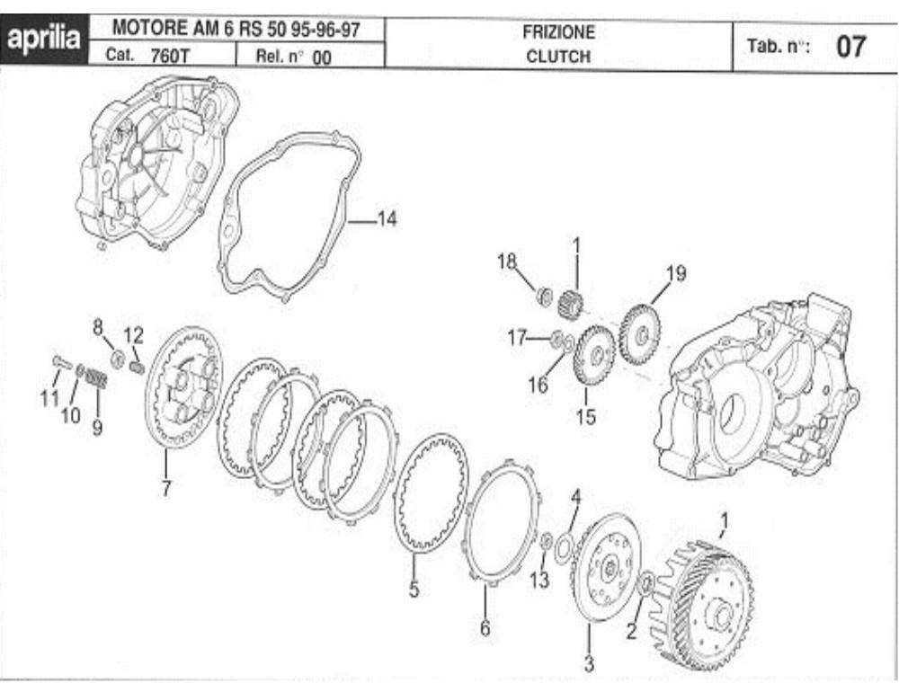 schema moteur am6