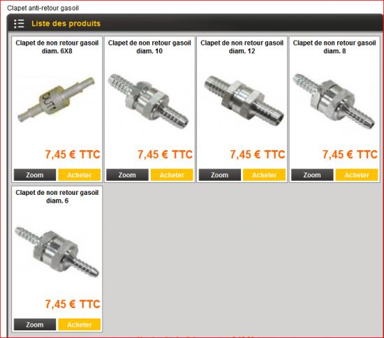 Clapet anti retour gasoil r paration m canique aide panne auto forum aut - Ou placer clapet anti retour ...