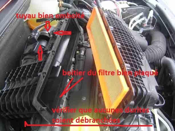 pb filtre air r paration m canique aide panne auto forum autocadre. Black Bedroom Furniture Sets. Home Design Ideas