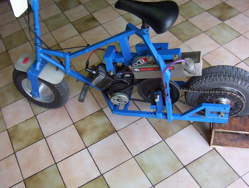 fabriqué une pocket maison ..comment? - Mécanique Pocket et Dirt Bike - Forum Autocadre